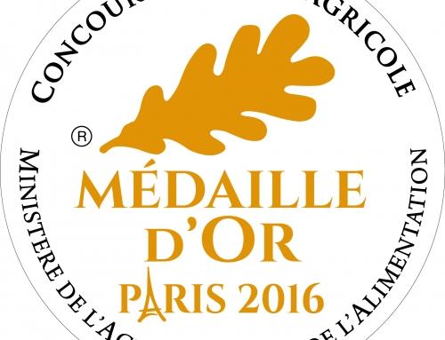 Les Récompenses en 2016 – De l'OR en Tavel et Lirac rouge