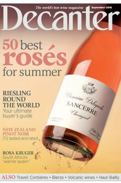 decanter rose