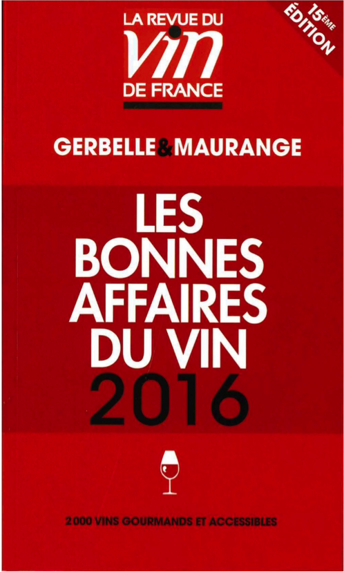 Le Guide des bonnes affaires du vin 2016