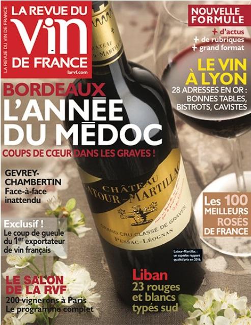 LA REVUE DU VIN DE FRANCE : les 100 meilleurs rosés de France – Mai 2017