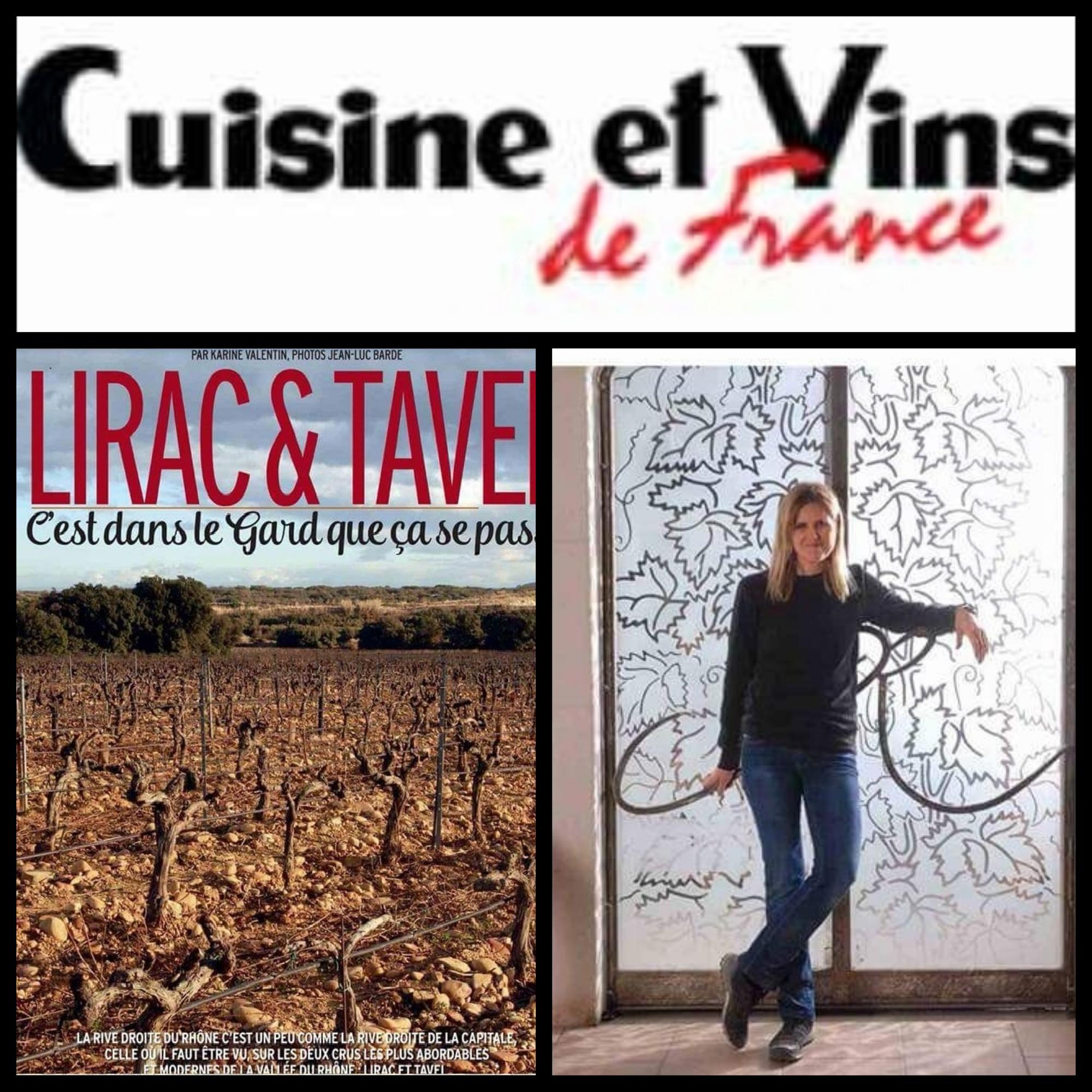 Cuisine et Vins de France, avril 2018
