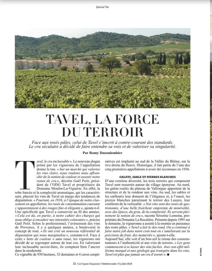 Le Figaro Magazine, juillet 2018